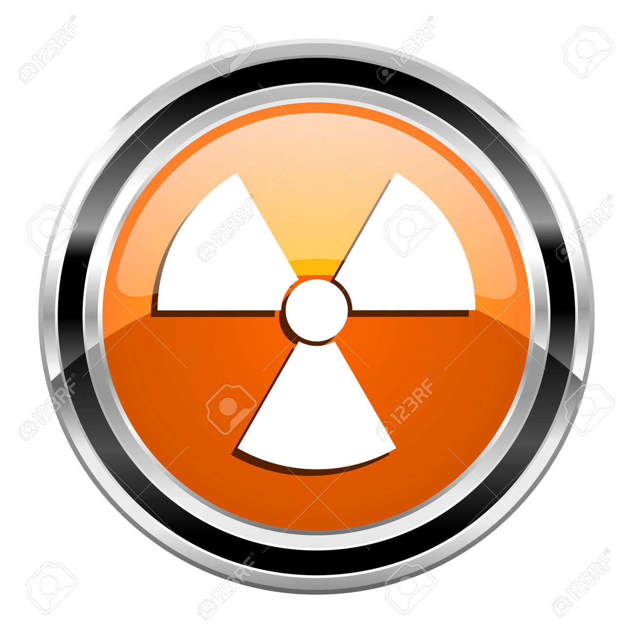 radiation icon Stock Photo - 21861160