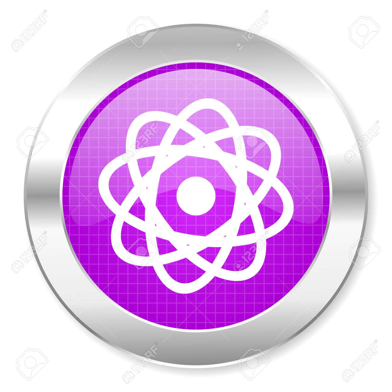 atom icon Stock Photo - 21862181