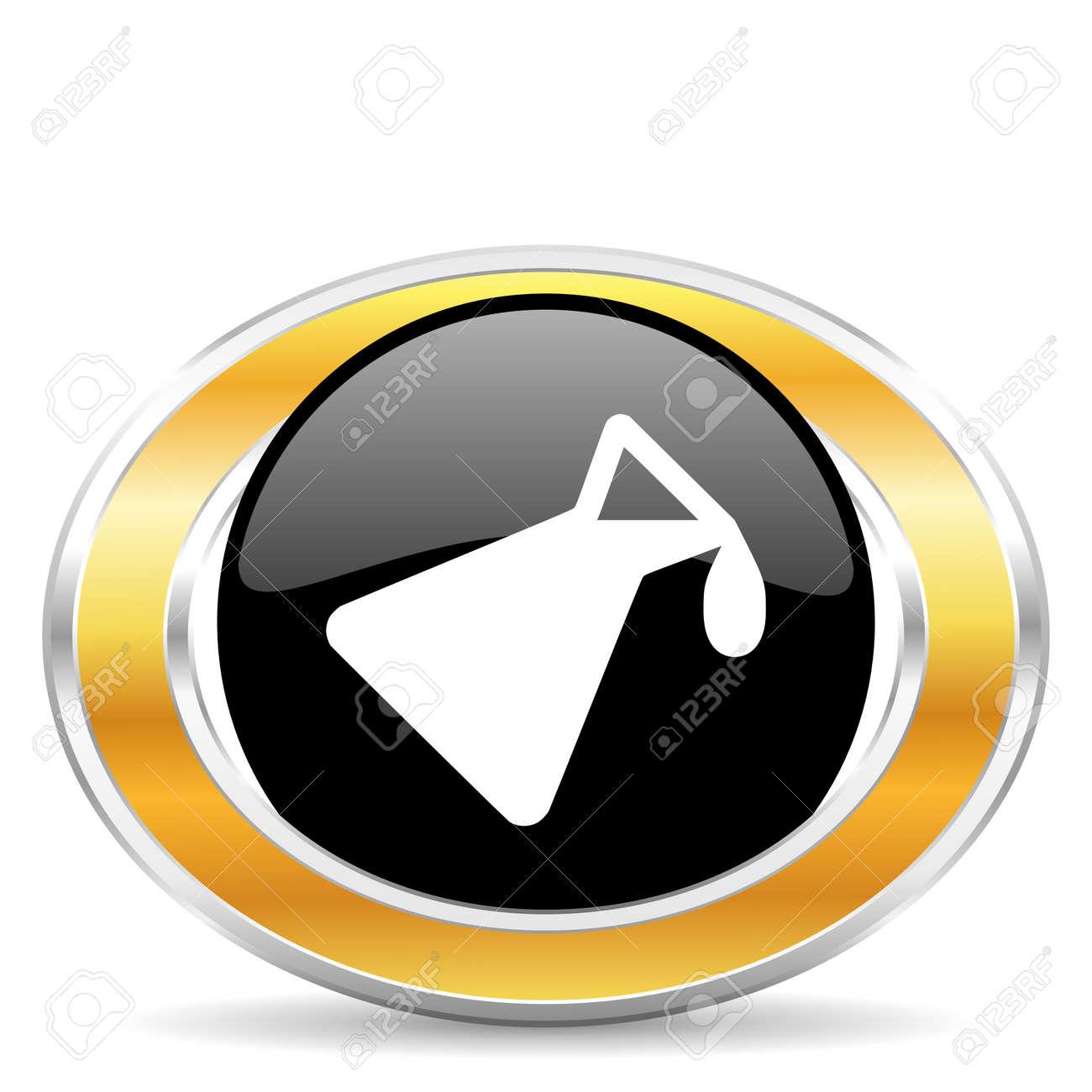chemistry icon Stock Photo - 22320882