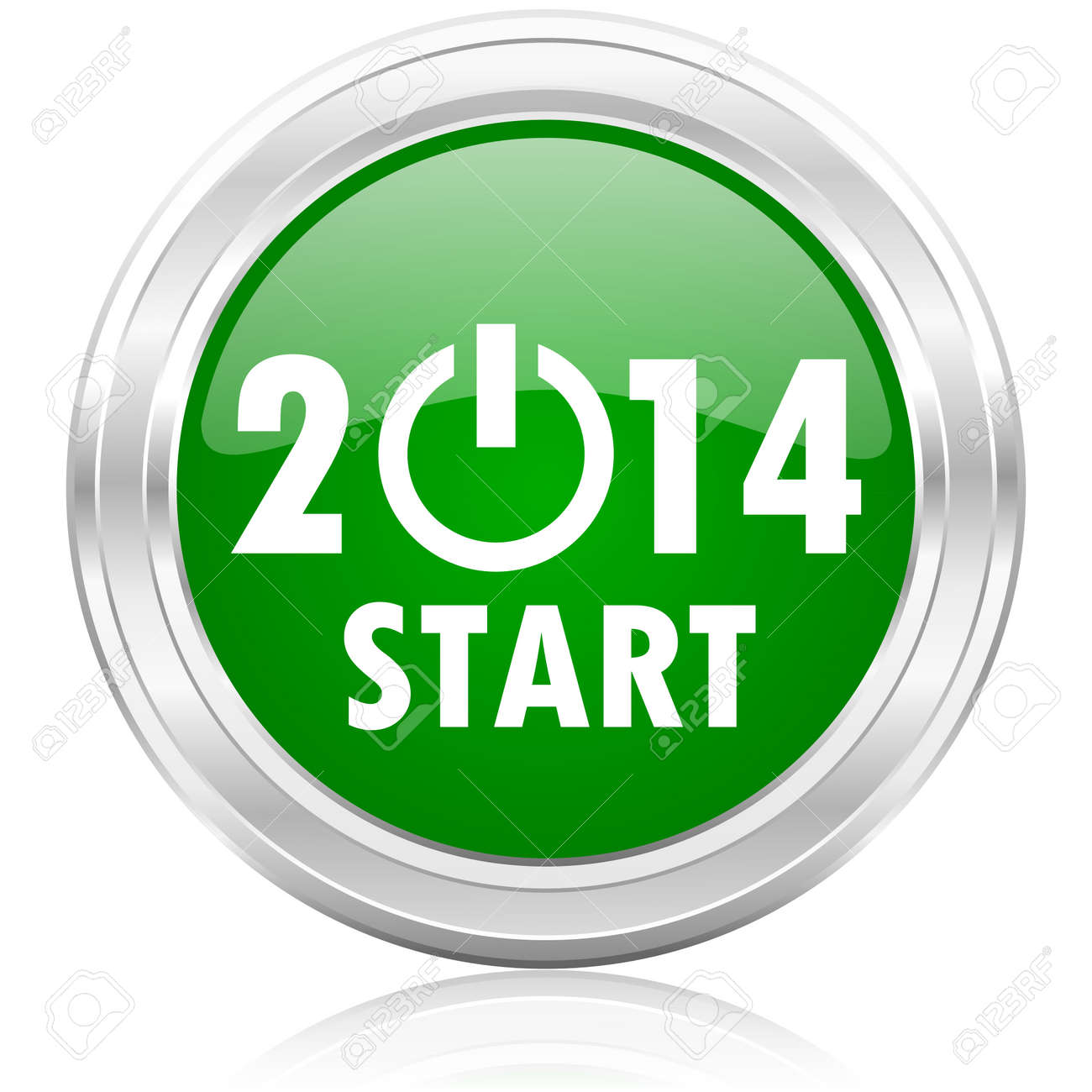 year 2014 icon - 22531686