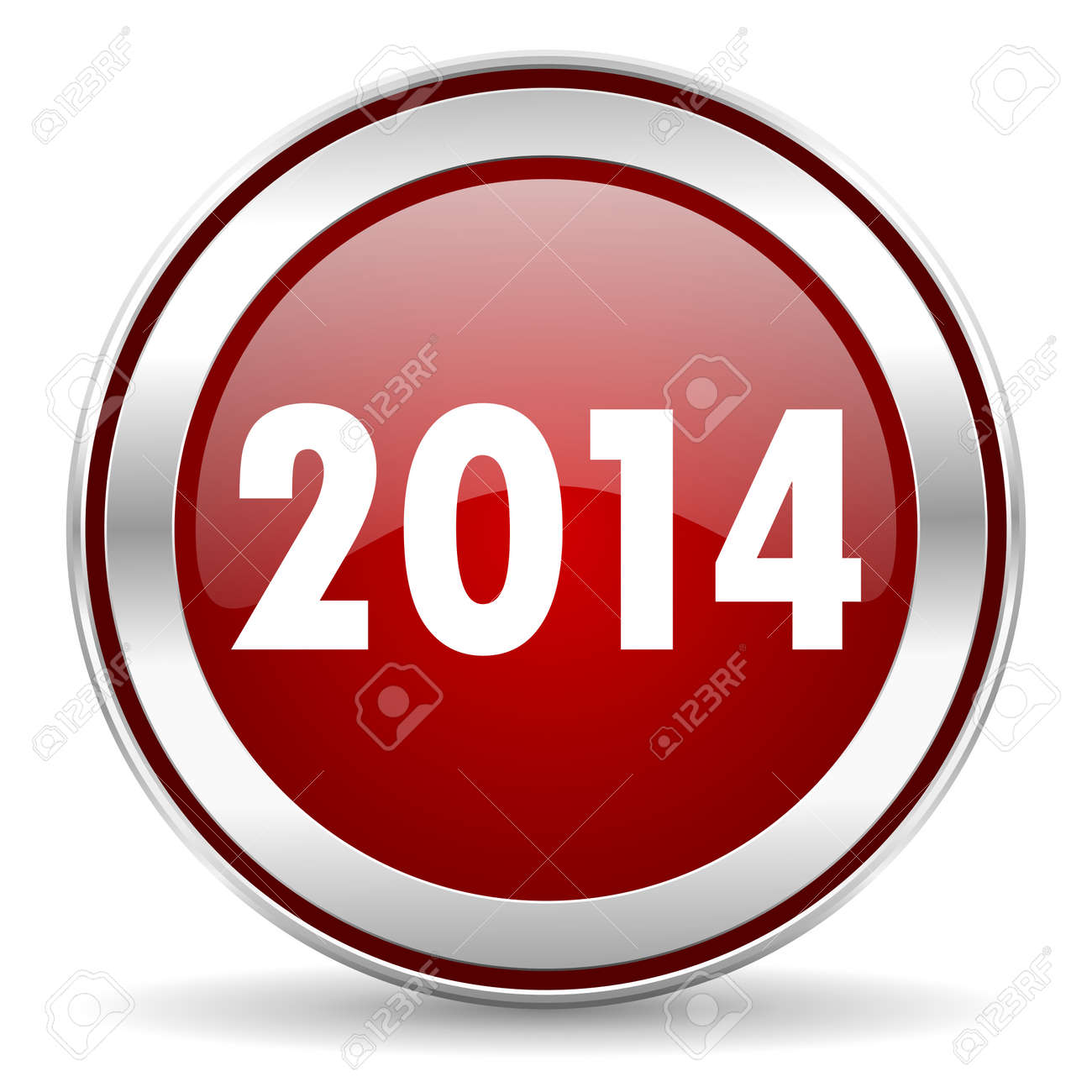 year 2014 icon Stock Photo - 22901803