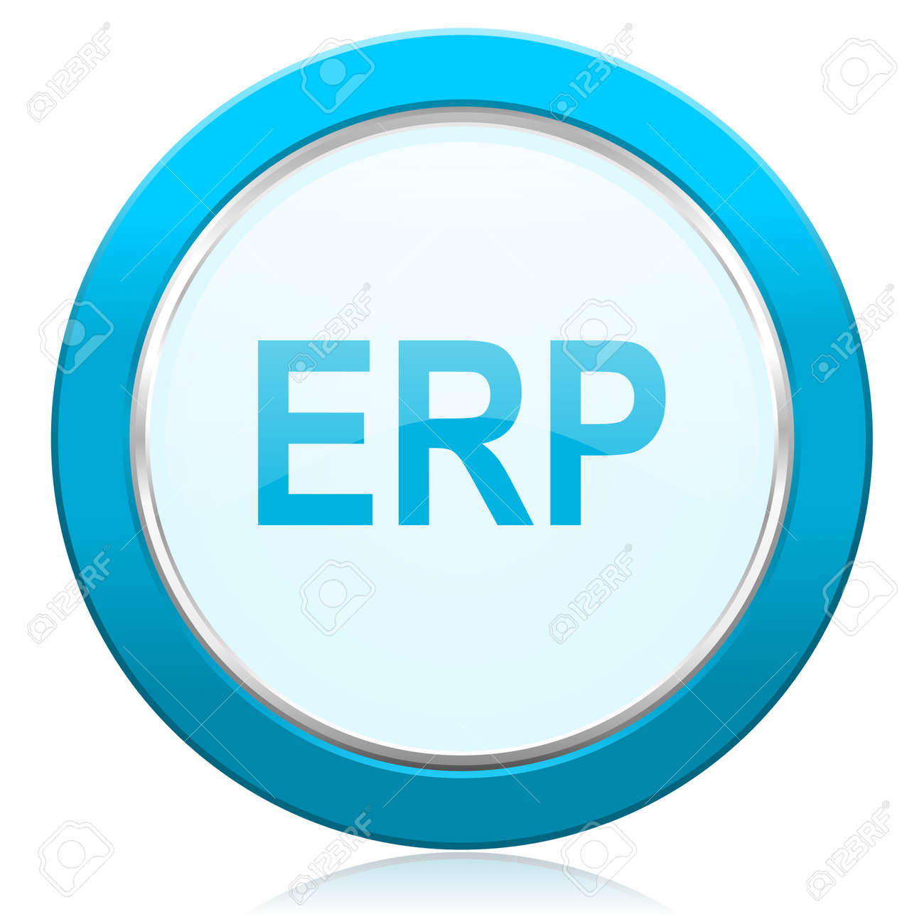 erp icon stock photo picture and royalty free image image 35406654