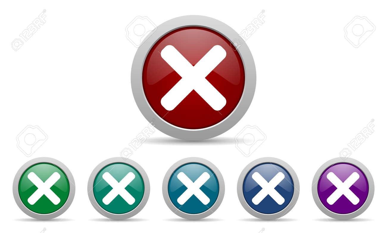 X Icon Stock Photo - cancel icon x