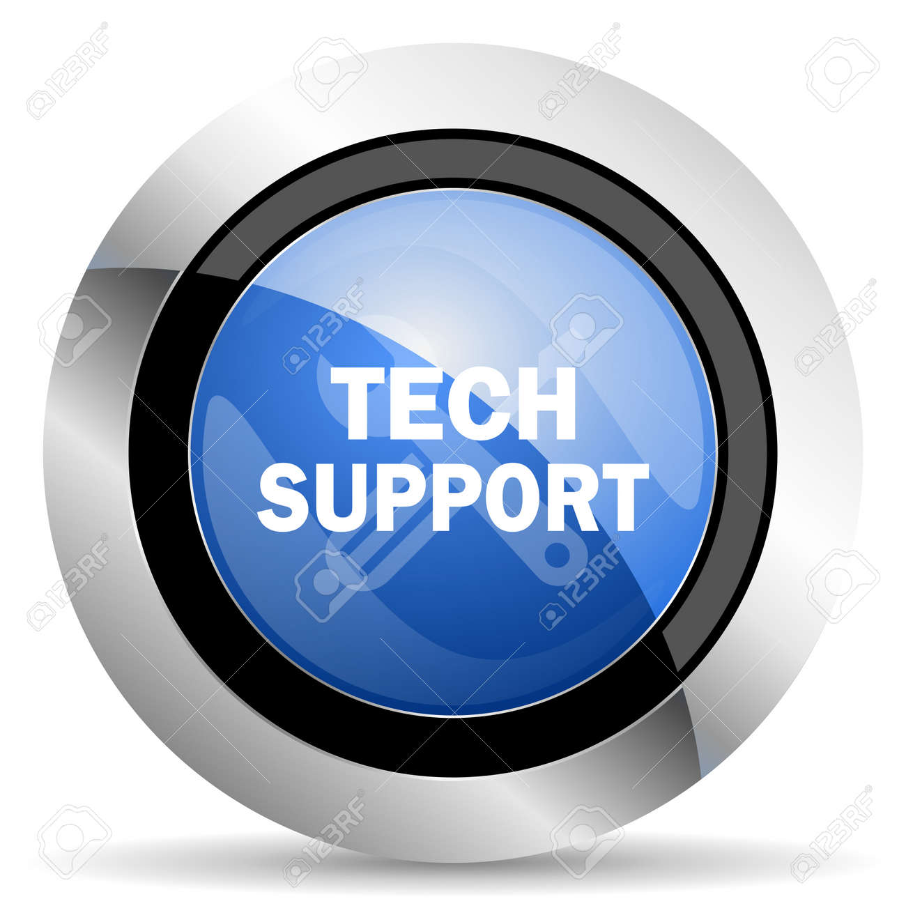 Technical Support Icon Stock Photo, Picture And Royalty Free Image ...