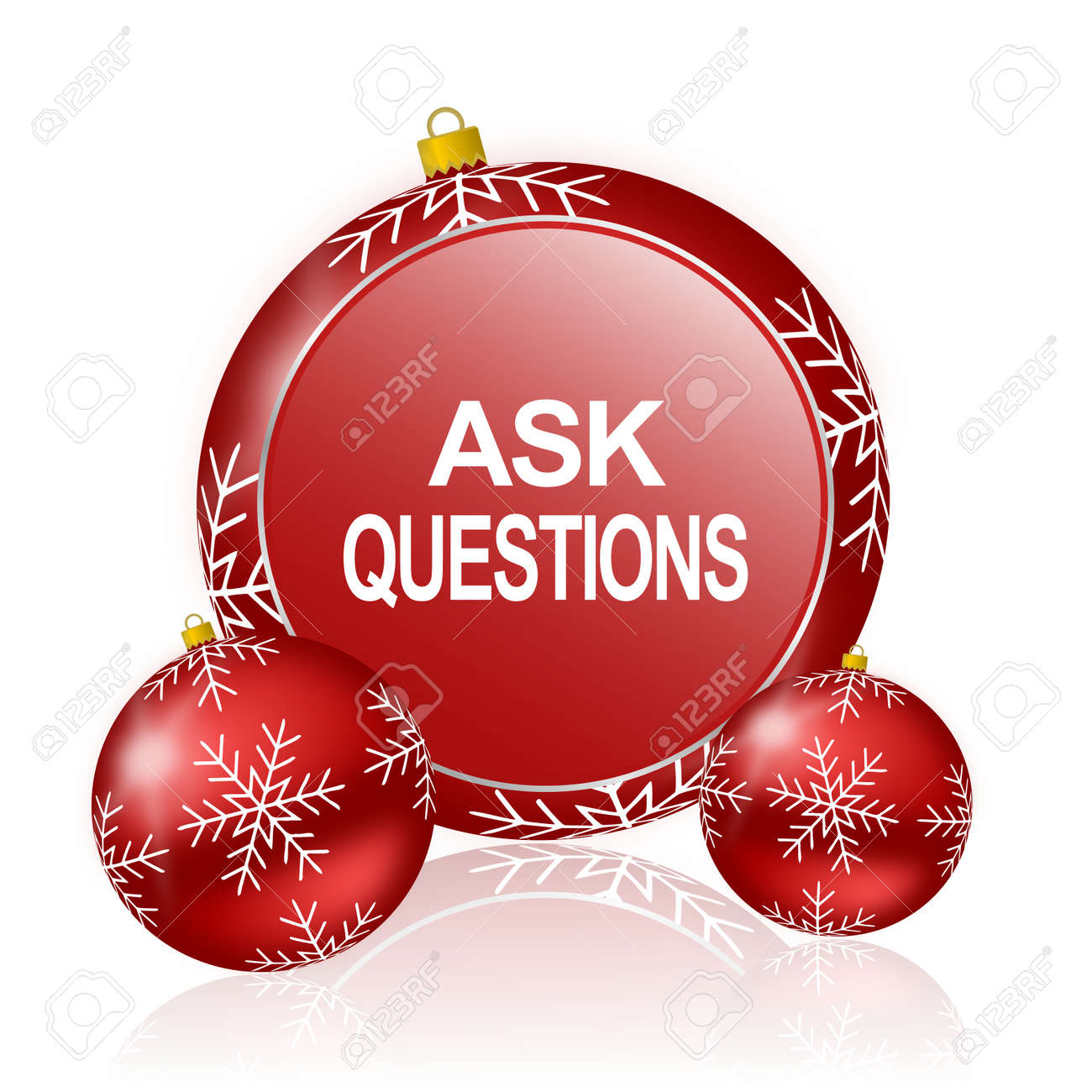 Christmas Questions To Ask.Ask Questions Christmas Icon