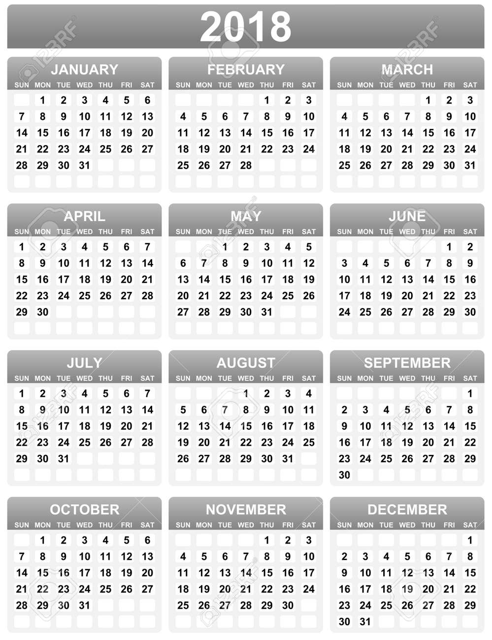 Famous Simple Calendar Template Images - Example Resume and ...