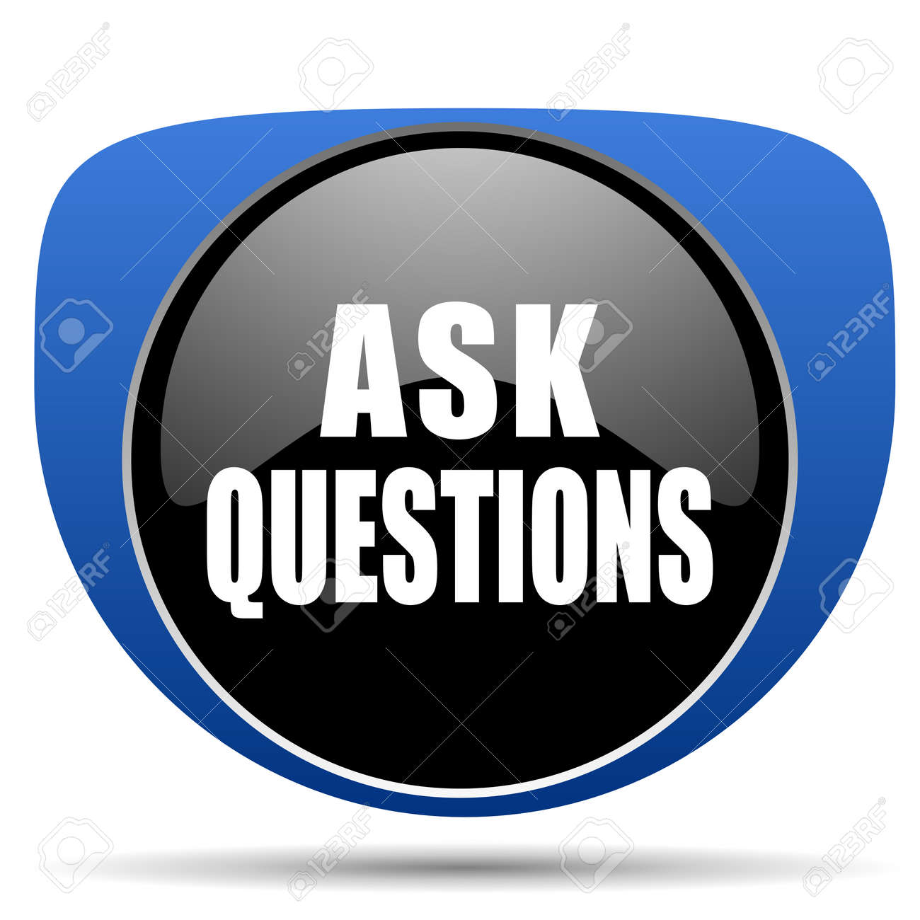 Ask questions web icon
