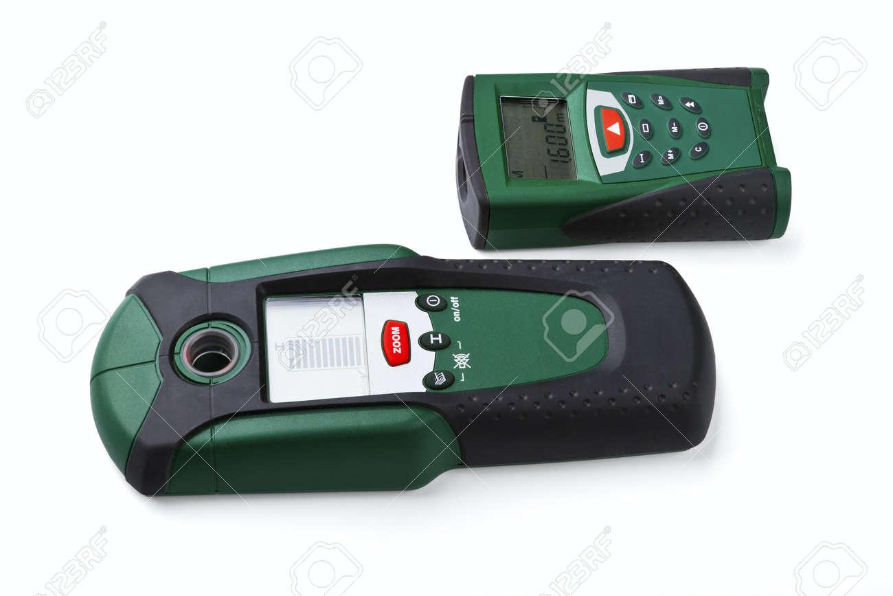 Entfernungsmesser Für Fotografie : Roulette bremssattel und laser entfernungsmesser auf weißem