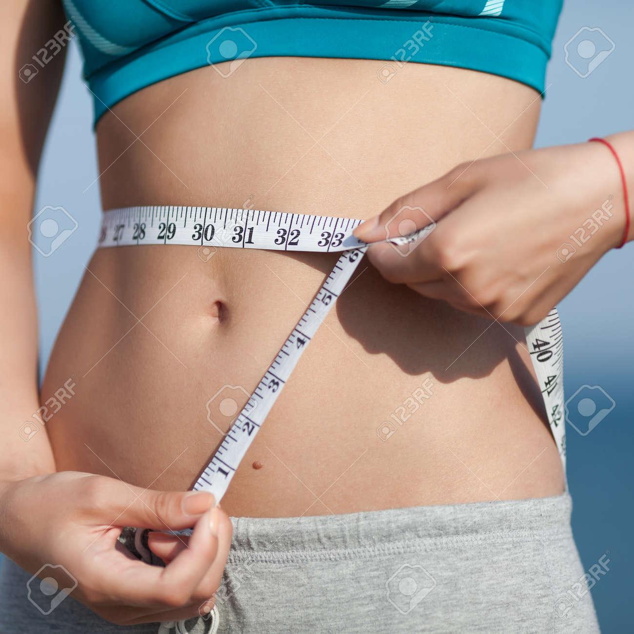 Sexy girl tummy