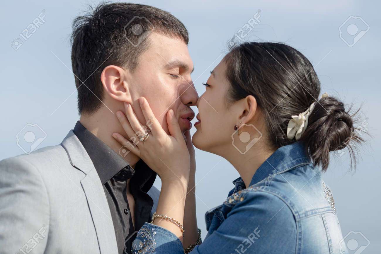 Asian Girls Kissing Asian