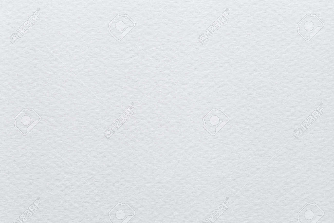 White Paper Watercolor paper texture or background - 45005166