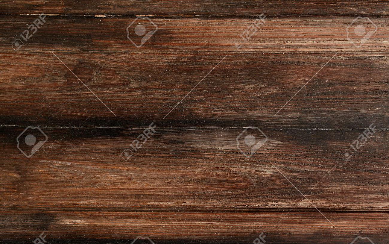 Rustic wooden background top view,design of dark wood texture - 60180586