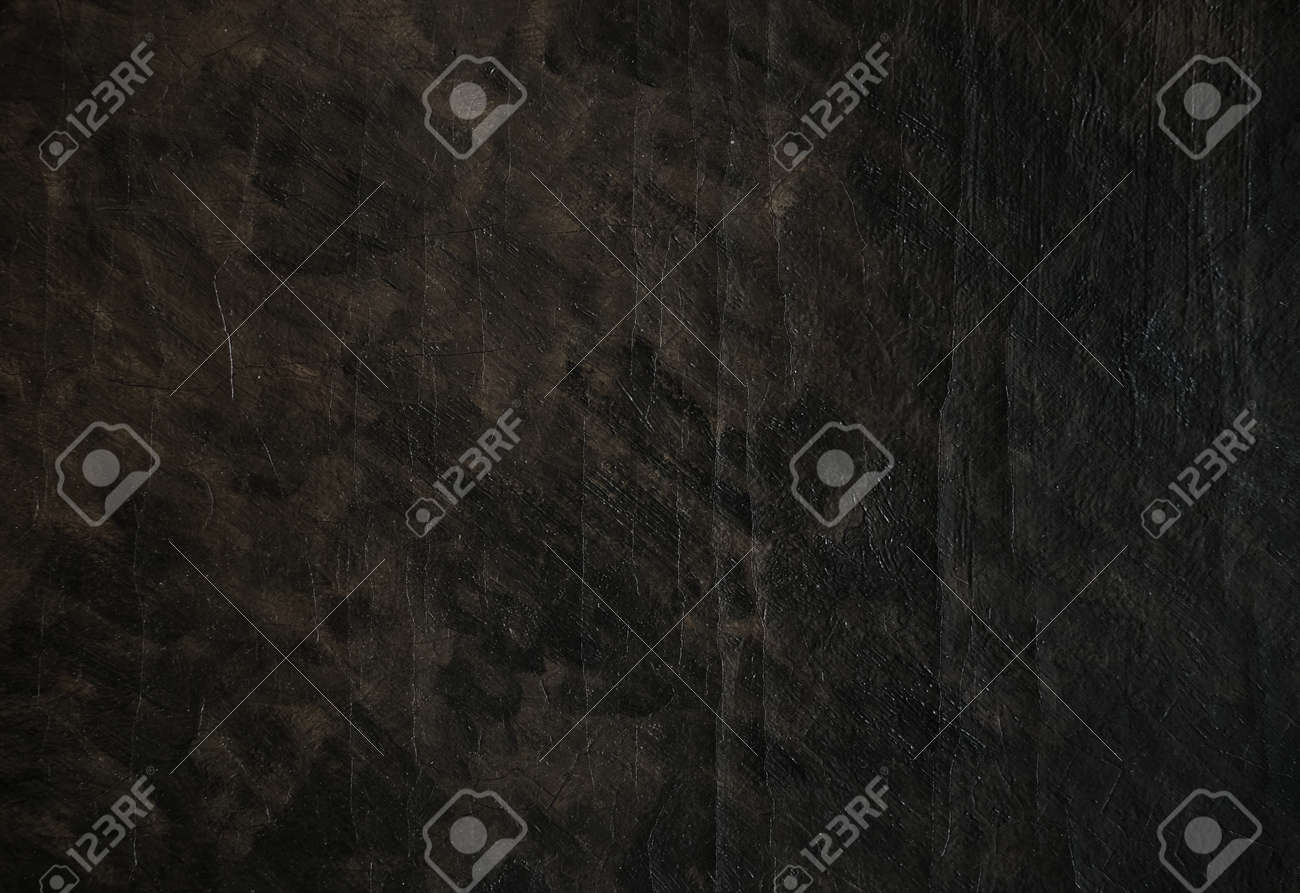 Abstract Vintage Dark Oil Paint Texture On Canvas Background Stock