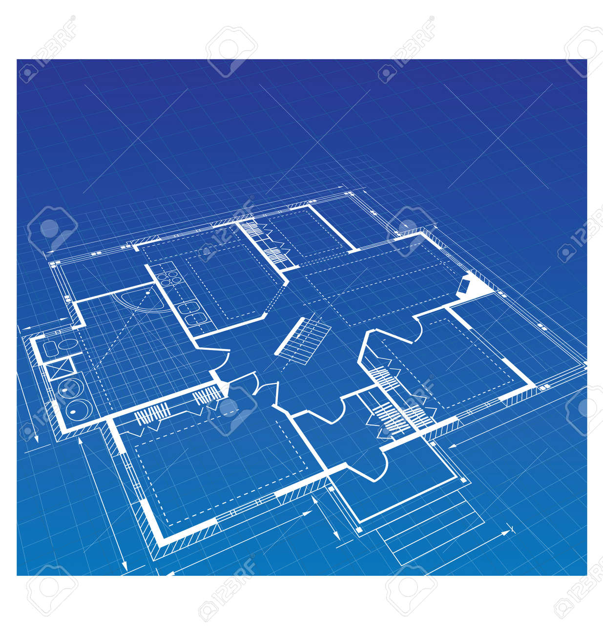 Blueprint House Images & Stock Pictures. oyalty Free Blueprint ... - ^