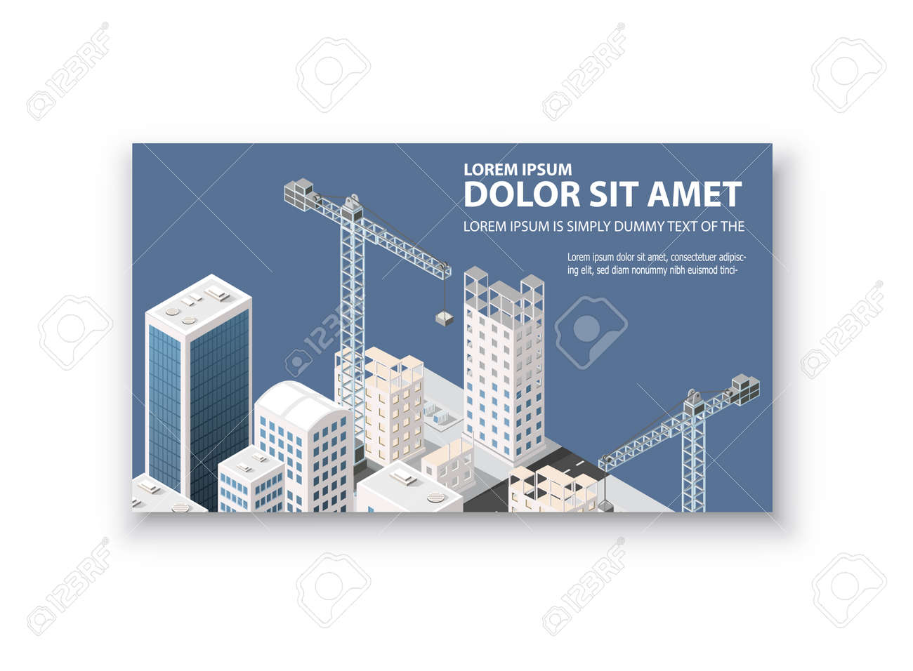 Business Card Template. For Real Estate Agencies, Construction ...