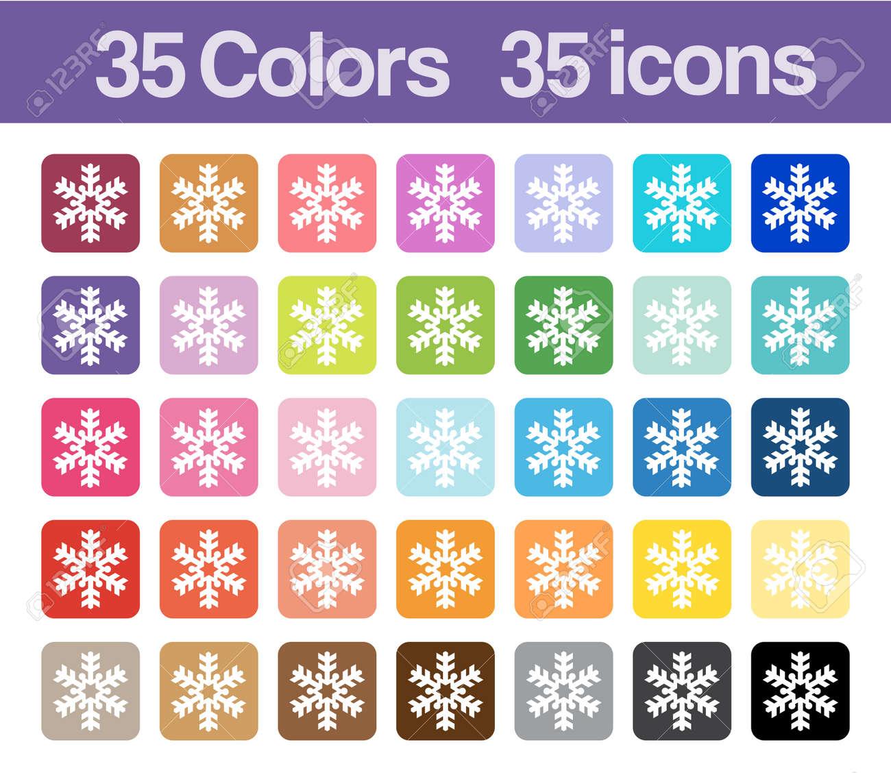 Christmas Snowflake Printable Icons For Graphics Planner Sticker