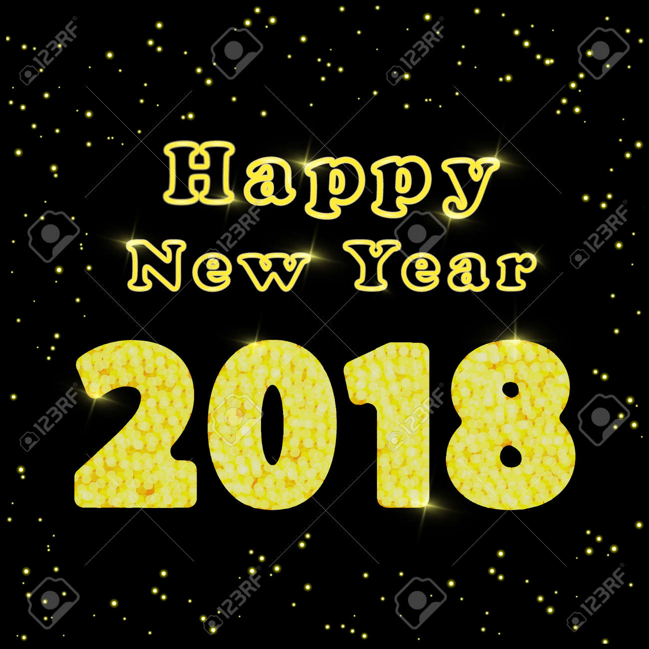 Official congratulations on the New Year 2018 16