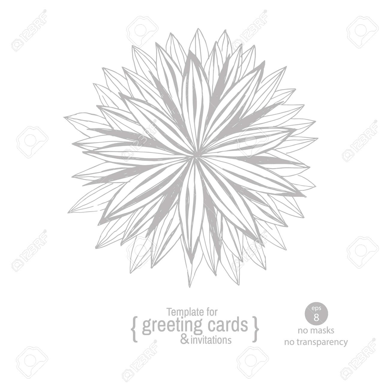 Tarjeta De Felicitación De La Plantilla O Invitación Para La Fiesta Aniversarios Fiestas Eventos De Gala Gráfico De La Mano De Flores