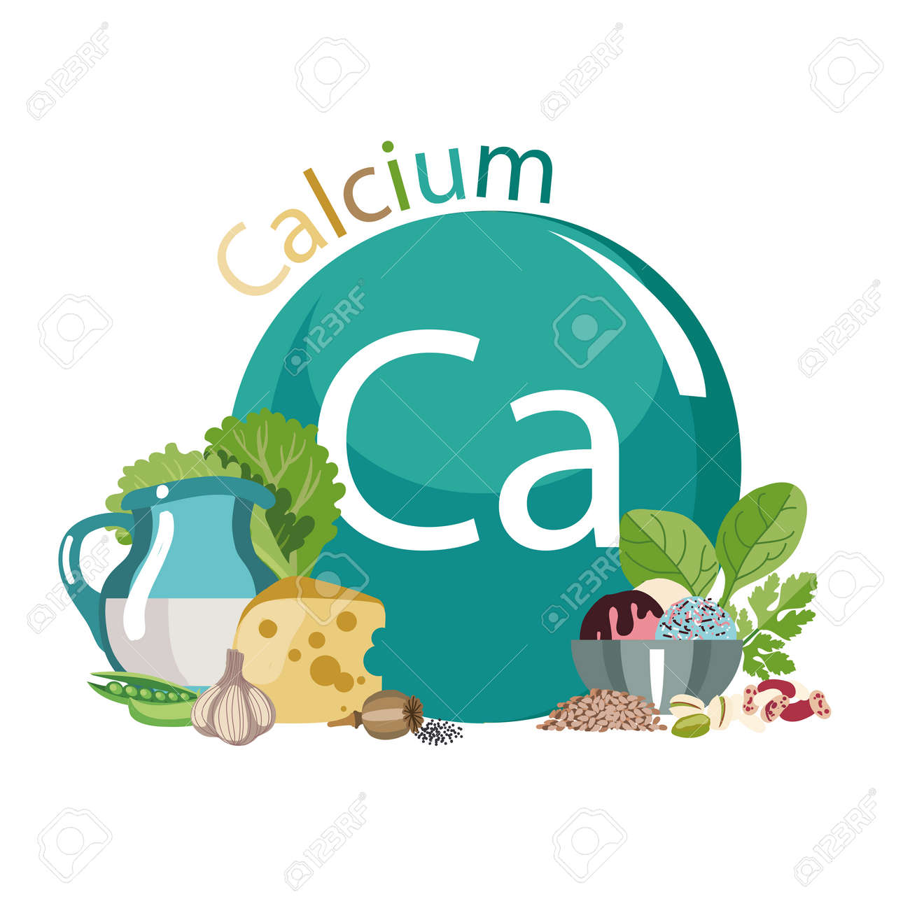 Food rich with calcium healthy food series composition with food rich with calcium healthy food series composition with products and the sign of buycottarizona Choice Image