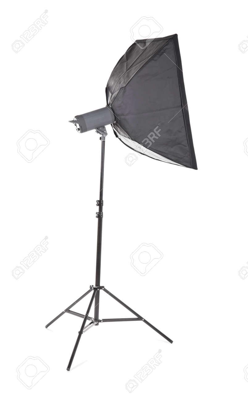 Professional studio flash with soft-box. Studio lighting. Photographic equipment lighting board theme  sc 1 st  123RF Stock Photos & Professional Studio Flash With Soft-box. Studio Lighting ... azcodes.com