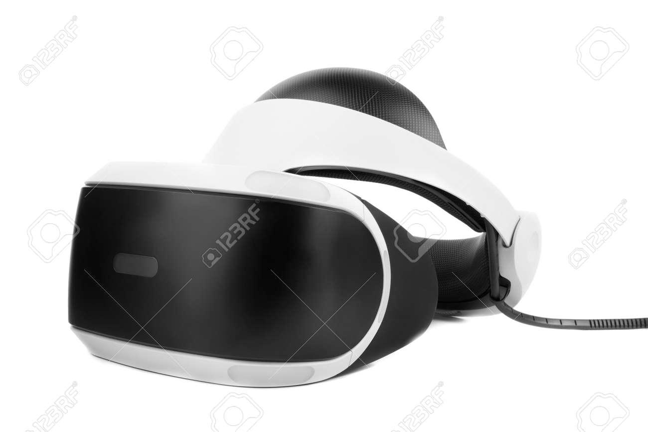 De VirtualAislado En Blancas Casco Fondo Virtual Niños Para Audio BlancoJuguete O Un Equipo Realidad Profesional Y AdultosGafas 4Aj35RLq