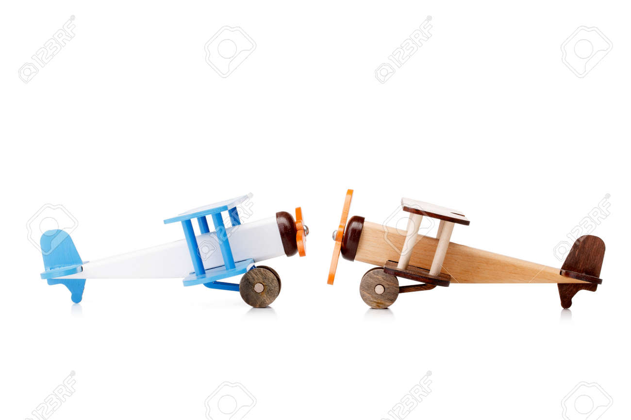 Two Wooden Toy Airplanes For Kids Toys For Two Years Old Kids