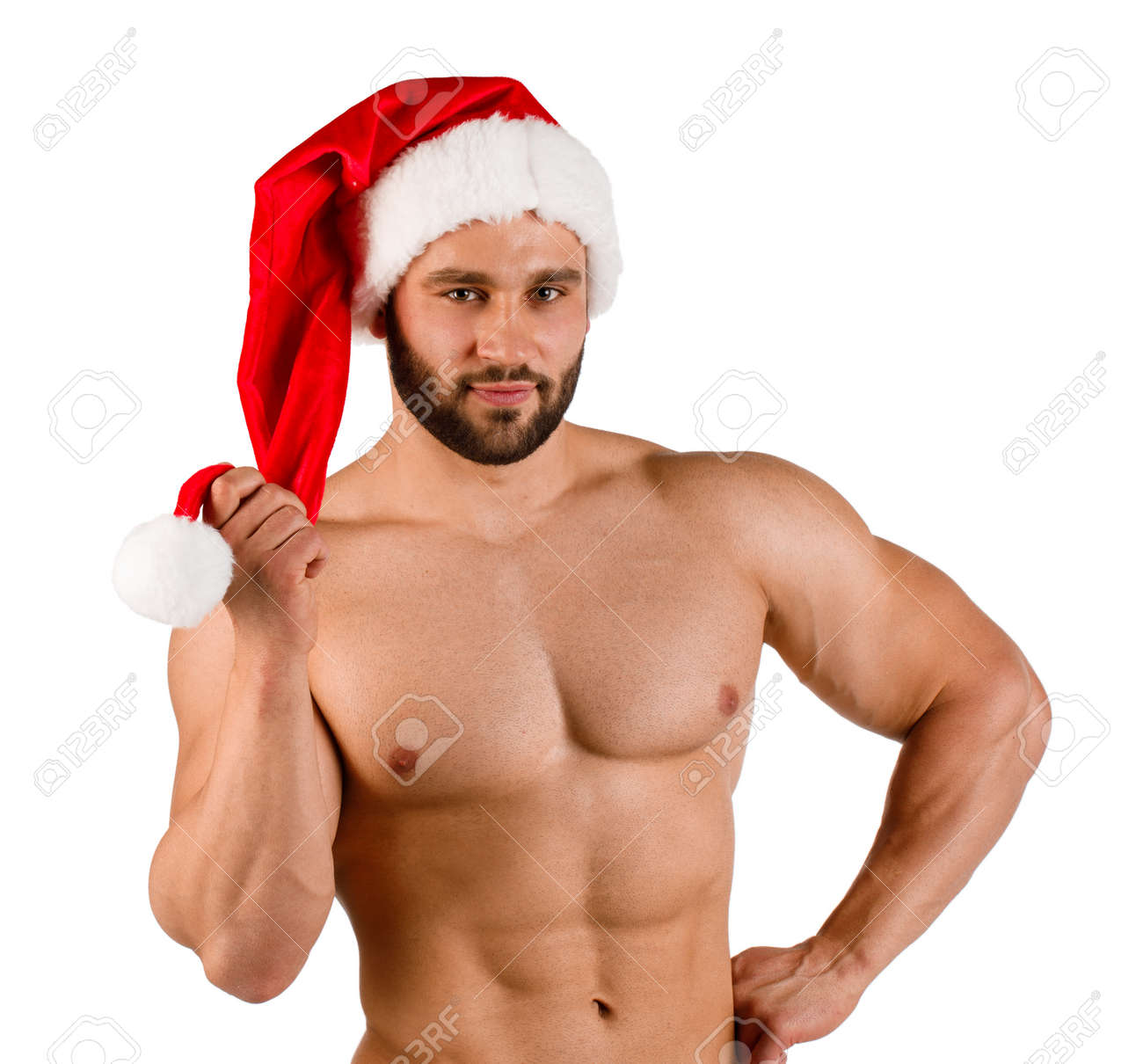 Christmas man picture sexy