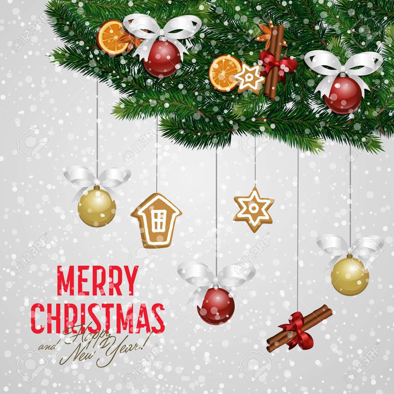 Glückwünsche Zu Weihnachten.Stock Photo
