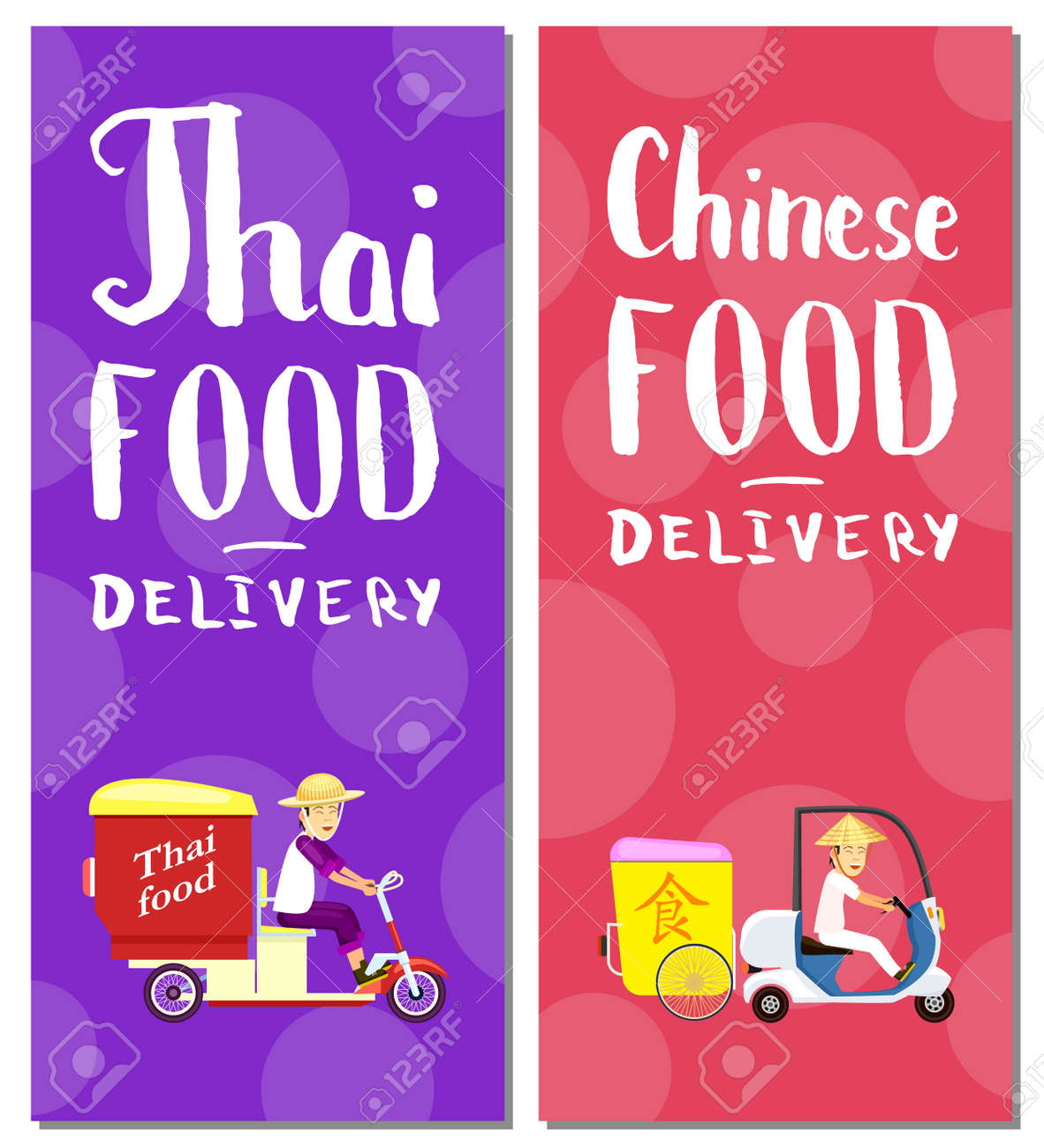 thai and chinese fast food delivery flyers online order food on home commercial shipping