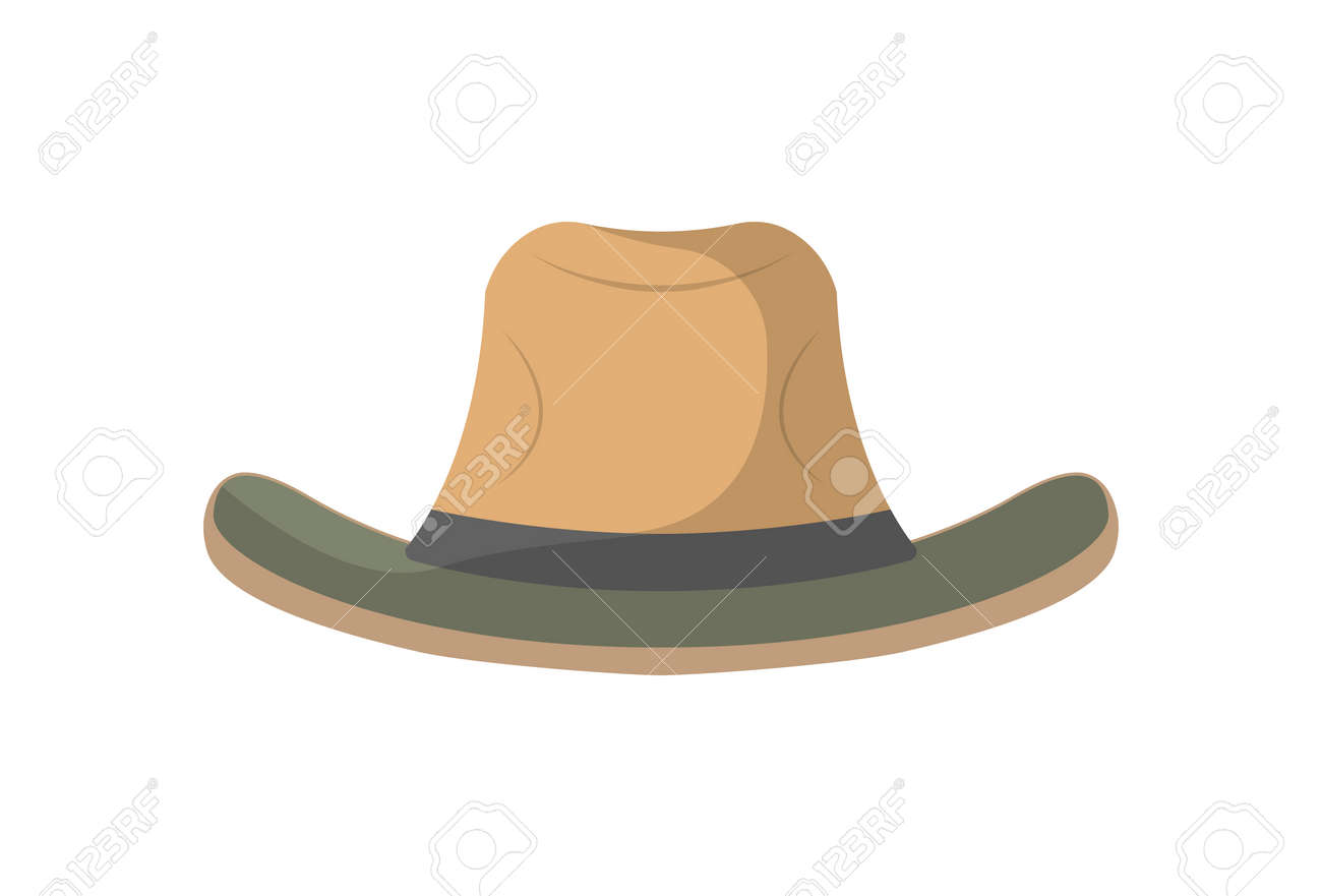 570c9b6f05a Cowboy Hat Icon. Campsite Equipment