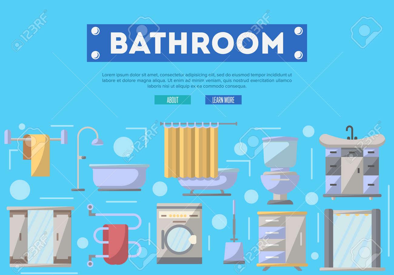 Affiche Salle De Bain ~ affiche de r novation de meubles de salle de bains avec machine