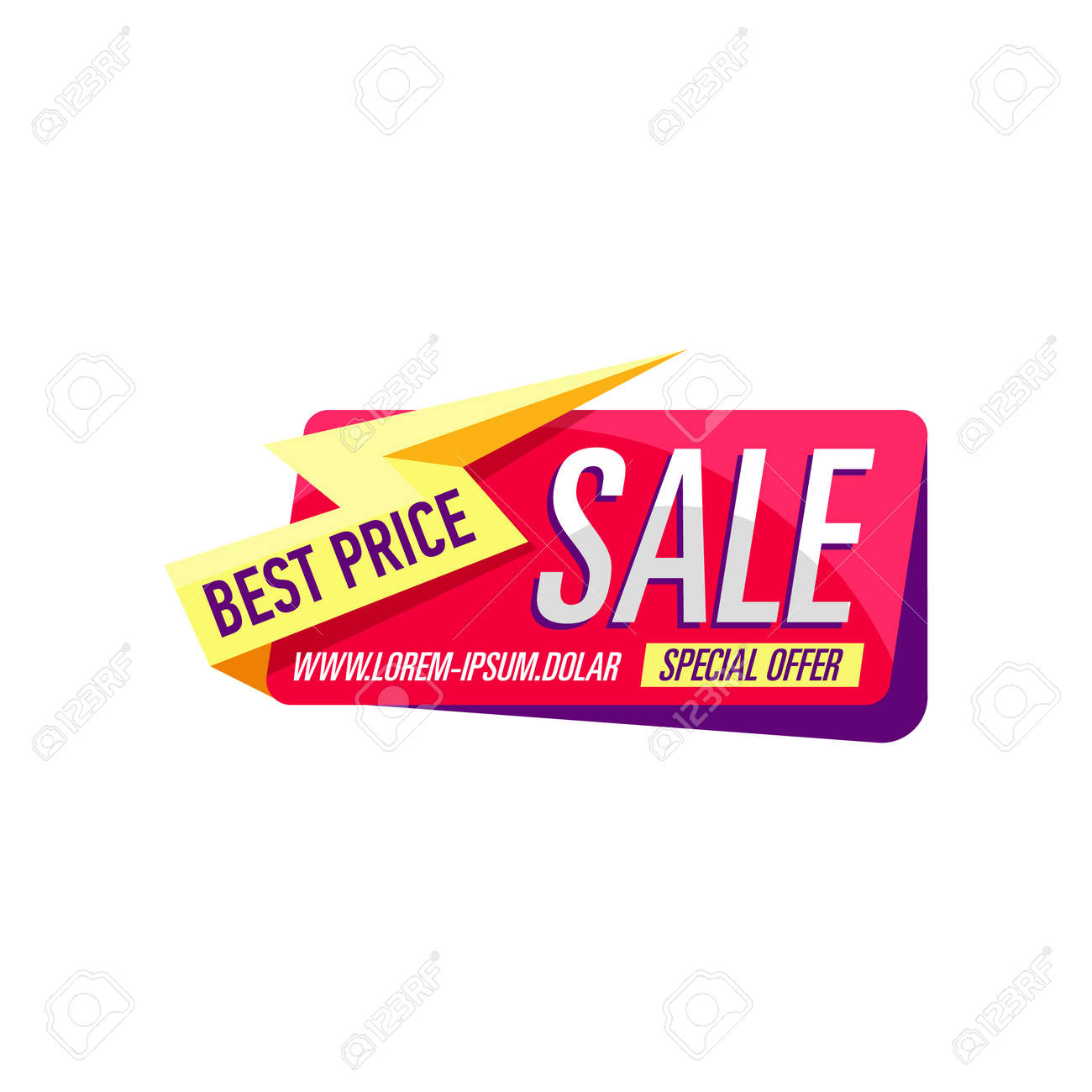 Best Price Sticker Isolated On White Background Retail Marketing Royalty Free Cliparts Vectors And Stock Illustration Image 95458575