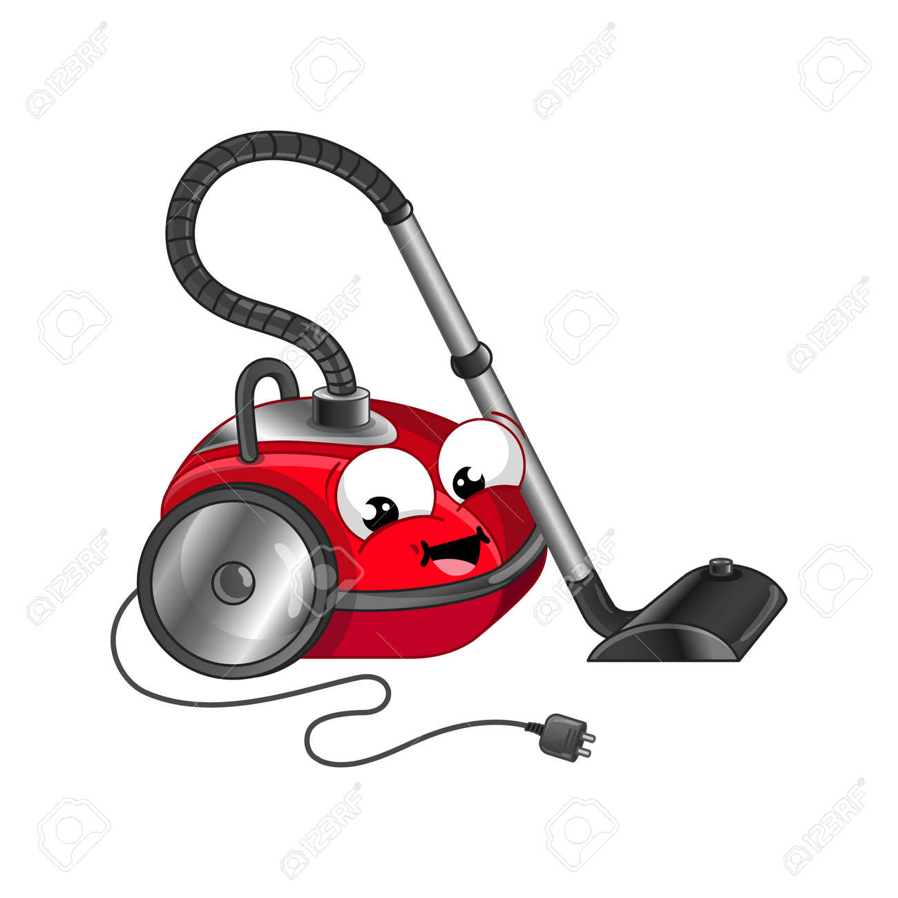 Funny Vacuum Cleaner Cartoon Character Stock Photo Picture And Royalty Free Image Image 102511304