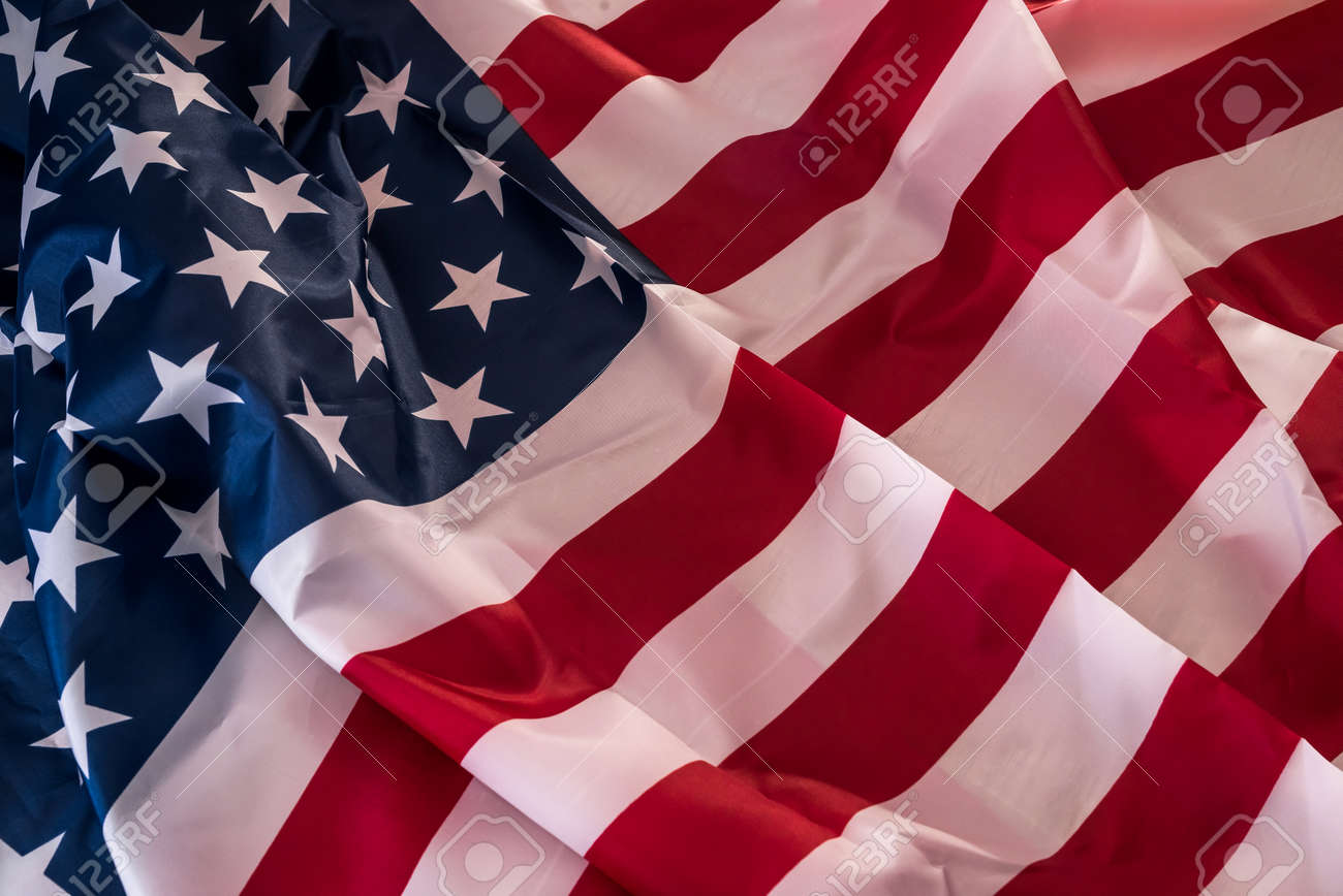 Flag of United States of America as background - 166530863