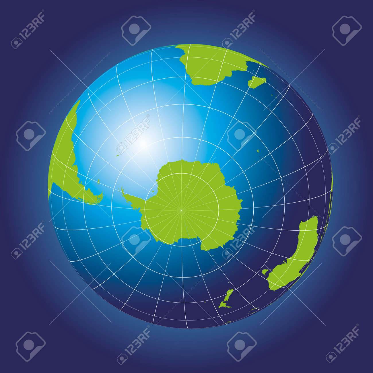 Antarctica and south pole map antarctica australia america antarctica and south pole map antarctica australia america africa earth globe gumiabroncs Image collections