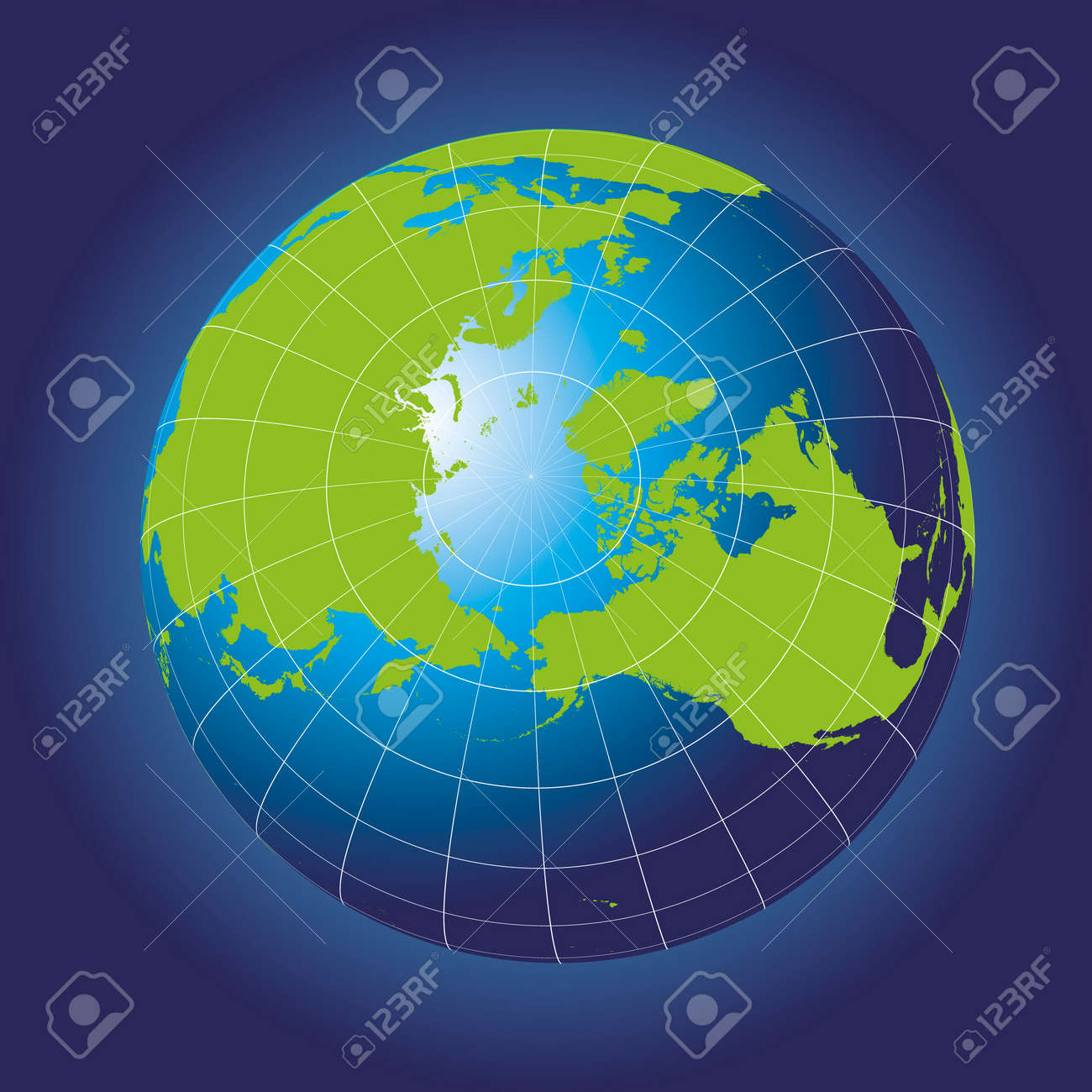 North pole map europe greenland asia america russia earth north pole map europe greenland asia america russia earth globe gumiabroncs Images