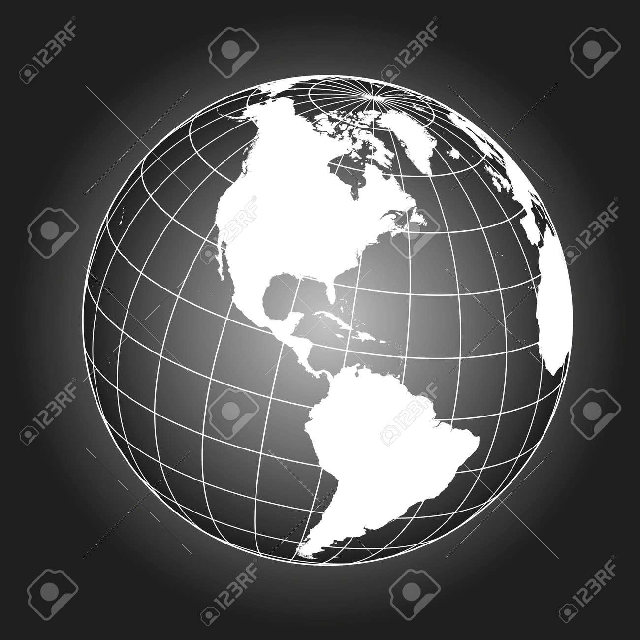 North america map europe greenland north pole south america north america map europe greenland north pole south america earth globe gumiabroncs Gallery