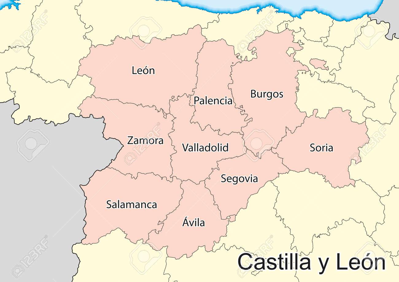 on castile map