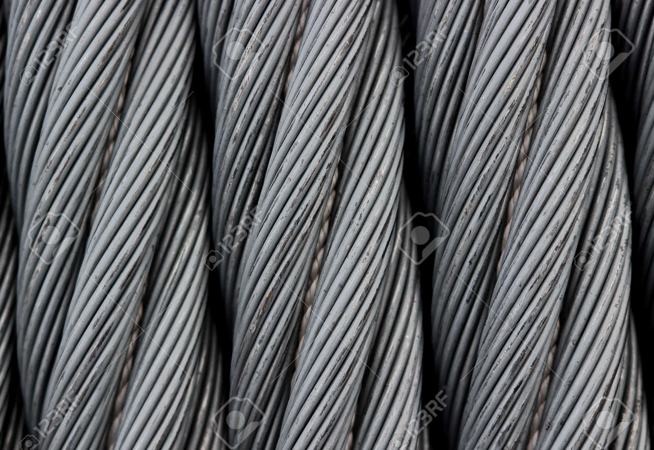 Steel Wire Texture - Heavy Duty Metal Wire Cable As Background ...