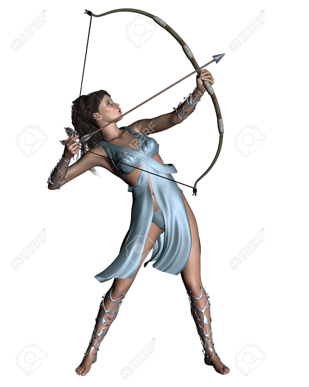 Illustration of diana the ancient roman goddess of the hunt illustration of diana the ancient roman goddess of the hunt or artemis in greek classical biocorpaavc Choice Image