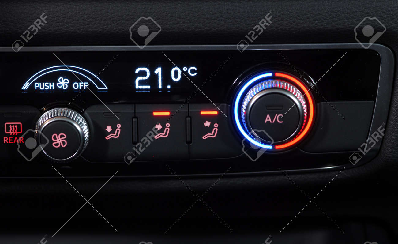 manual switches the air conditioning on the dashboard of the stock rh 123rf com Audi A6 User Manual Honda Manual