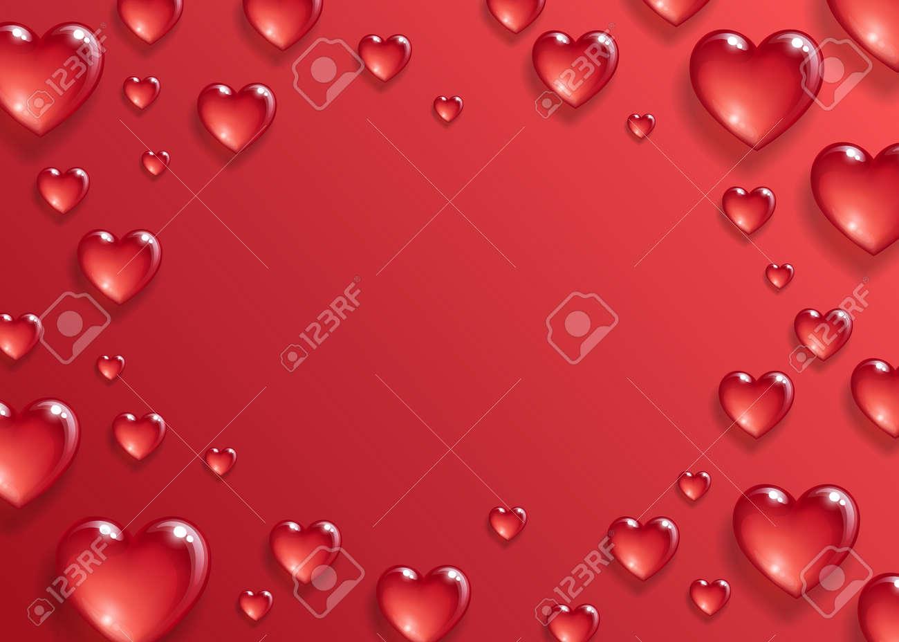 Valentines day background. - 93345311