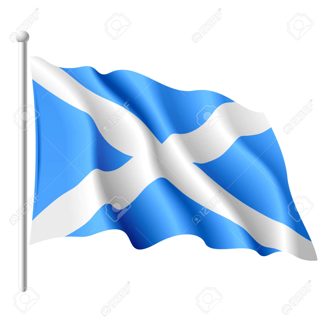 flag of scotland royalty free cliparts vectors and stock