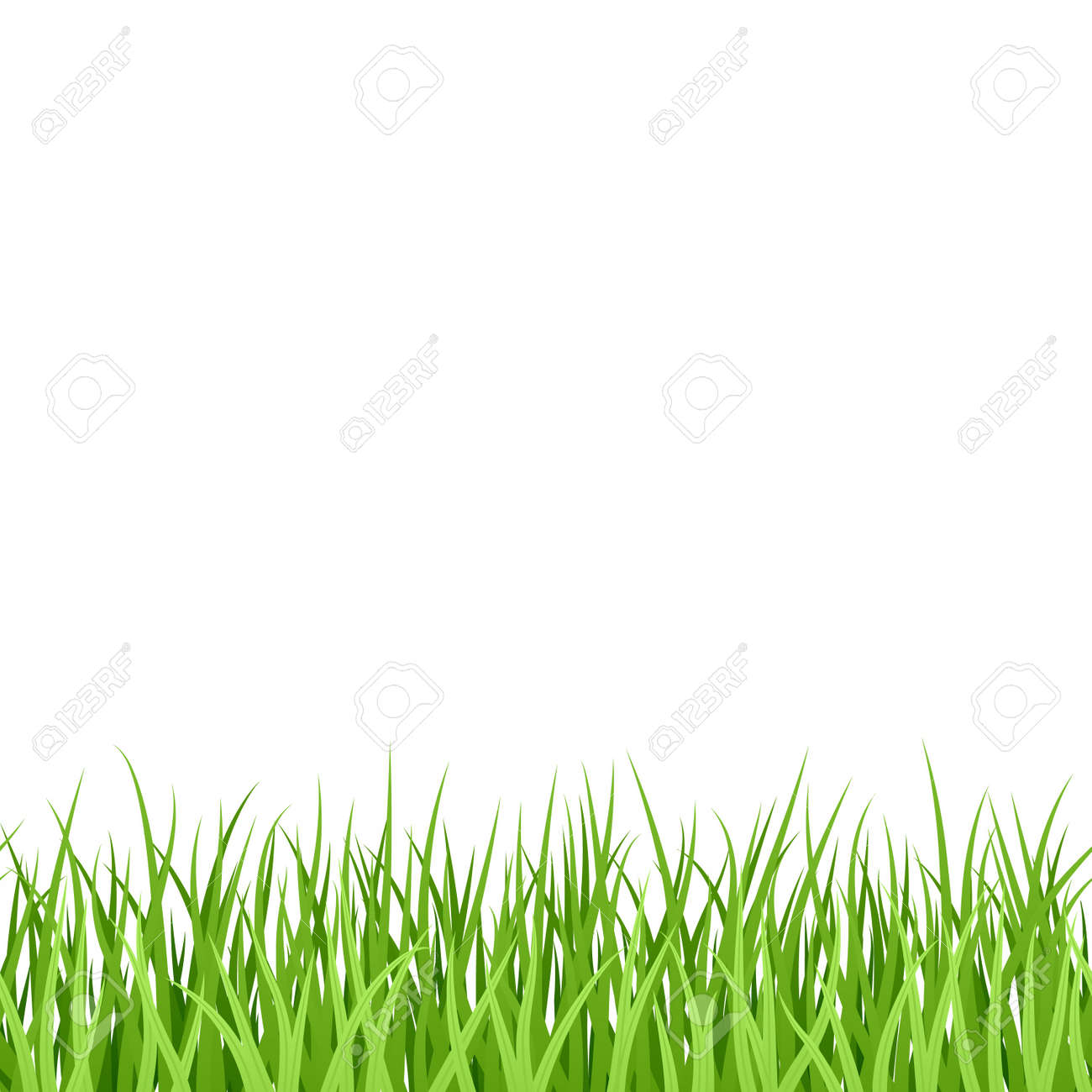 緑の草シームレスなイラストのイラスト素材ベクタ Image 9882088