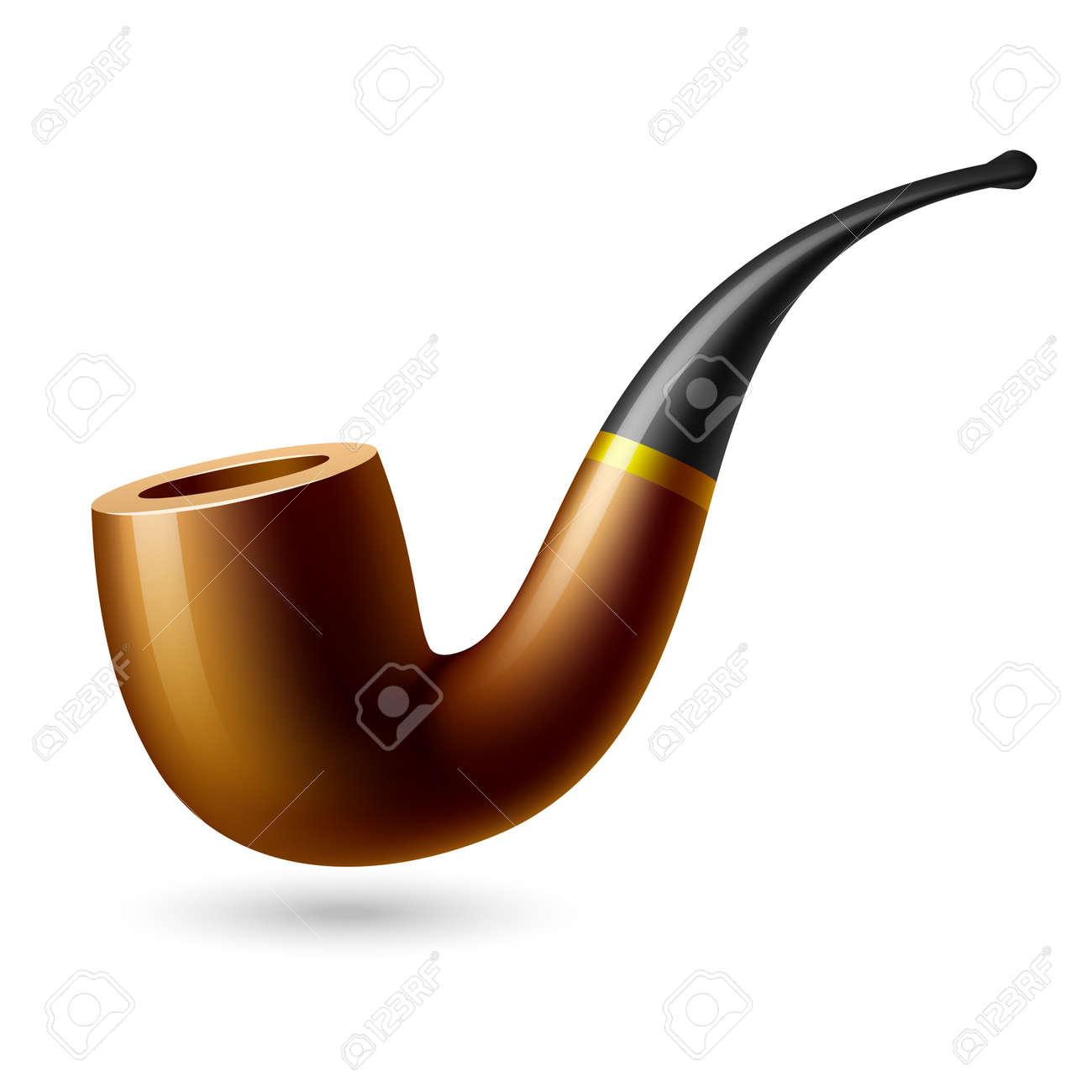 Tobacco pipe Stock Vector - 9882421