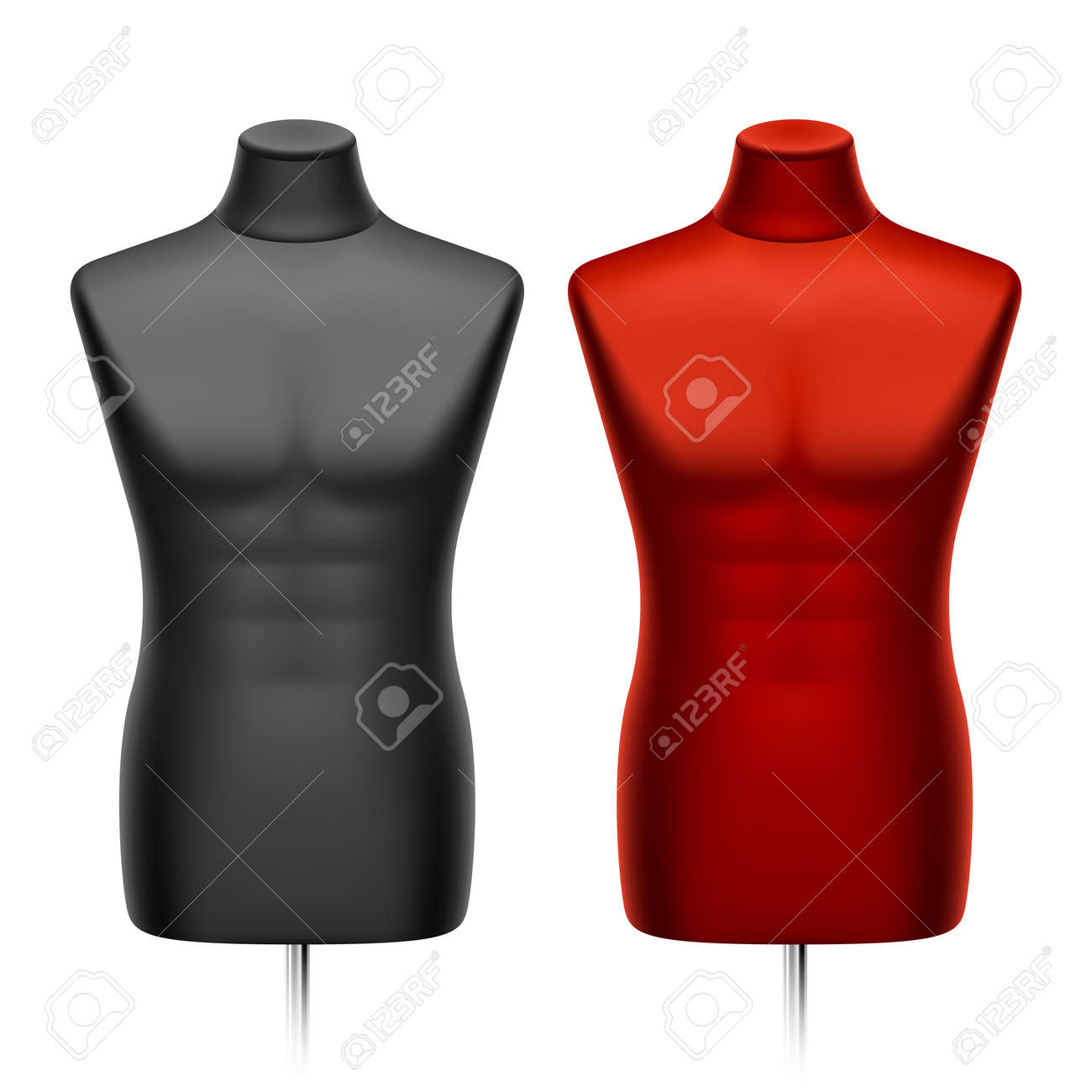 Male tailors dummy, mannequin Stock Vector - 12493722