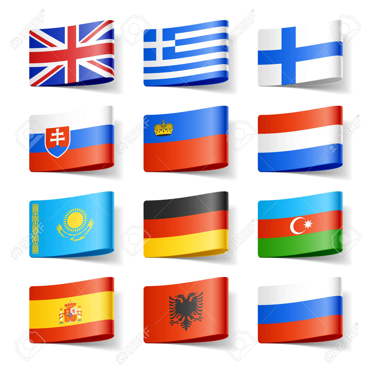 World flags Europe - 12595528