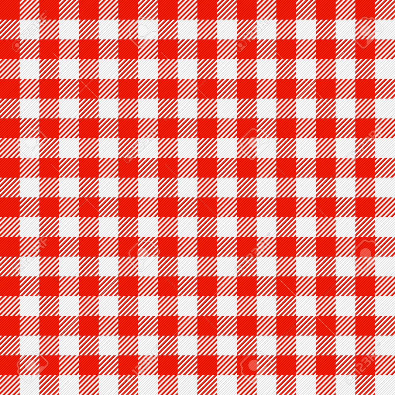 Captivating Checkered Tablecloth Seamless Stock Vector   13963686