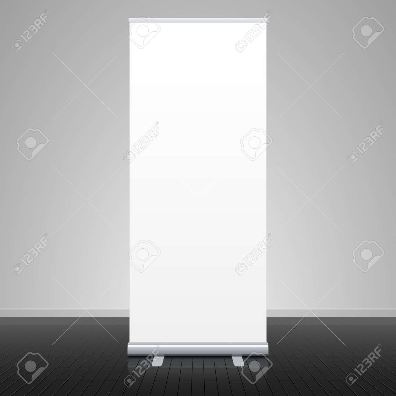 Roll up banner stand Stock Vector - 14223247