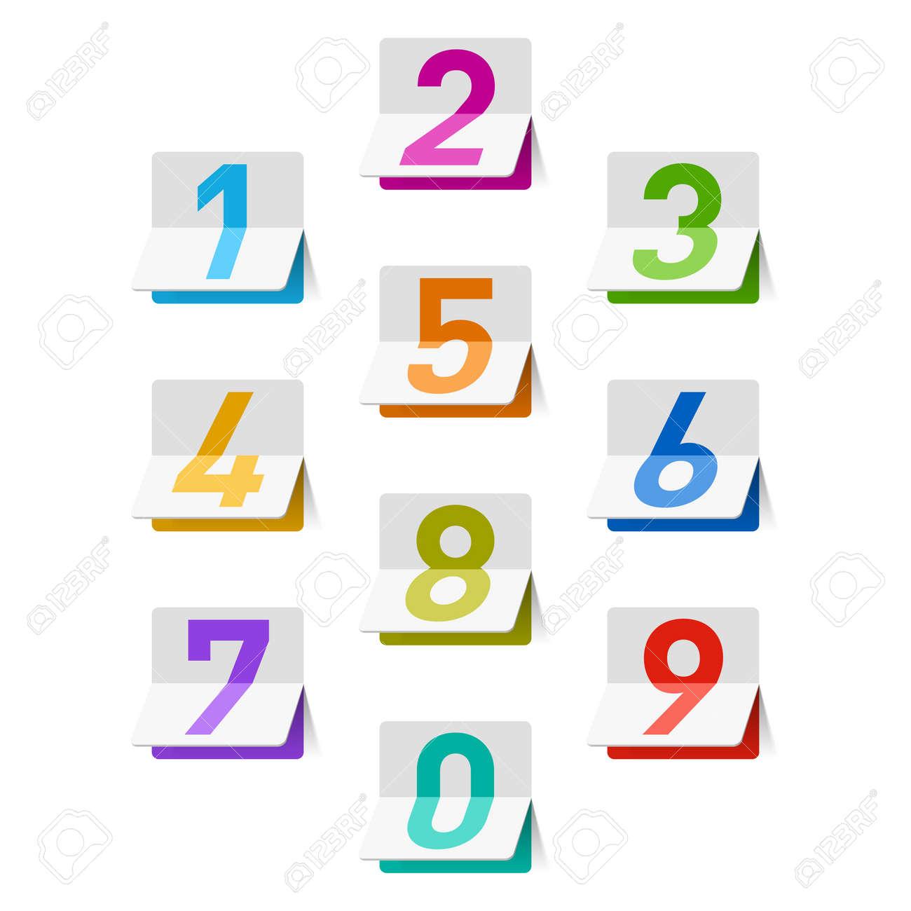 Numbers set - 14223242